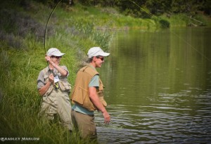 Casting for Recovery-Fly Fishing Dubois WY