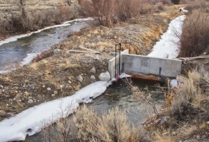 Headgate After Another View | DAWGS Horse Creek Project Dec 2012