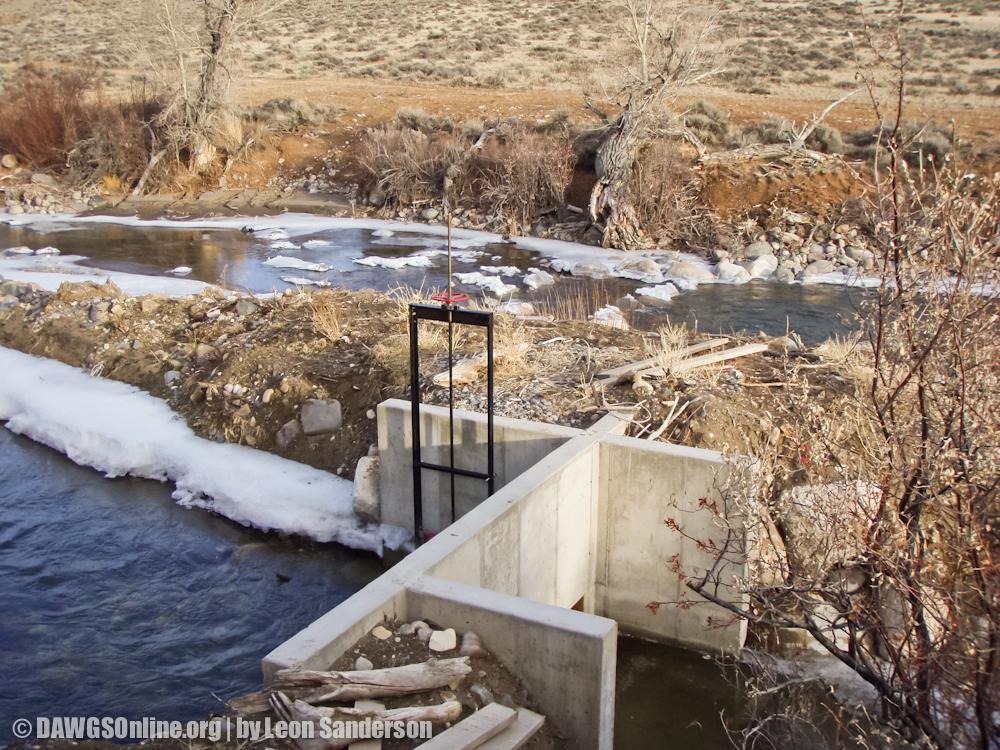 Headgate: After | DAWGS Horse Creek Project Dec 2012