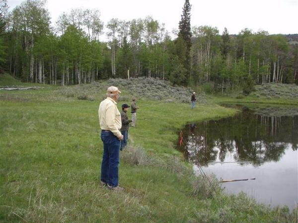 Kids Fishing Day-scouts pond-1