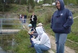 Kids Fishing Day-scouts pond-15