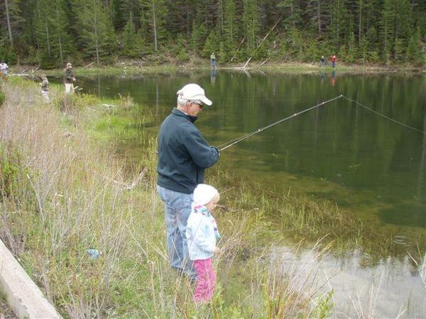 Kids Fishing Day-scouts pond-dennis-discovers-this-is-not-a-fly-rod-16