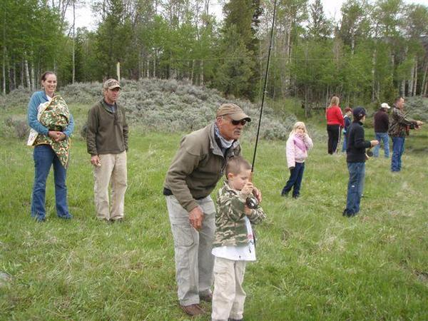 Kids Fishing Day-scouts pond-families-love-fly-fishing-10
