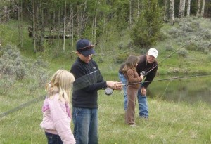 Kids Fishing Day-scouts pond-fly-casting-lessons-9