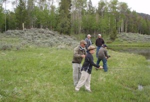 Kids Fishing Day-scouts pond-frank-with-young-man-5