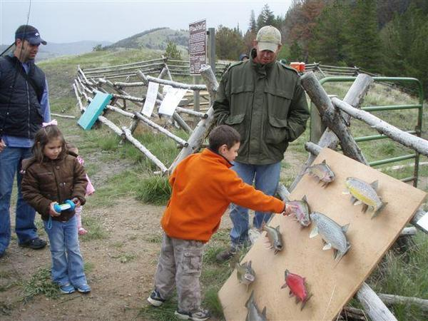 Kids Fishing Day-scouts pond-learning-about-trout-17