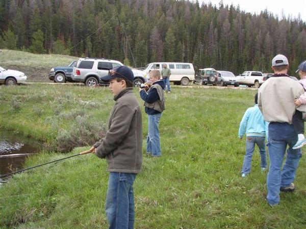 Kids Fishing Day-scouts pond-skyler-4