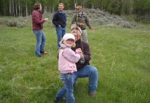 Kids Fishing Day-scouts pond-young-girl-3