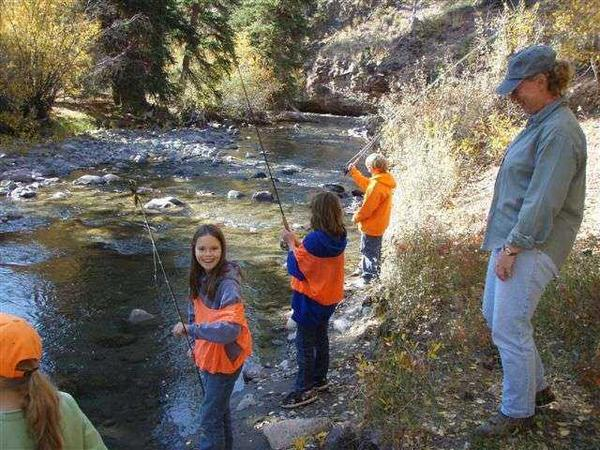 Trout Movement Study-a moment for children to fly fish-5